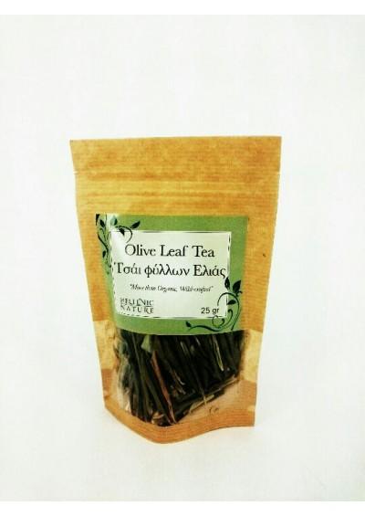 Hellenic Nature, Griekse  Olijf bladeren thee(biologisch) 25 gram.