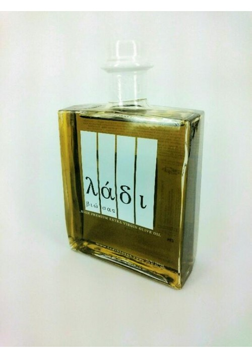 Ladi biosas biologische koude persing  extra virgin Griekse olijfolie 700ml.