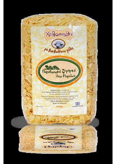Gilopitaki pasta (buffel melk) 400 gram.